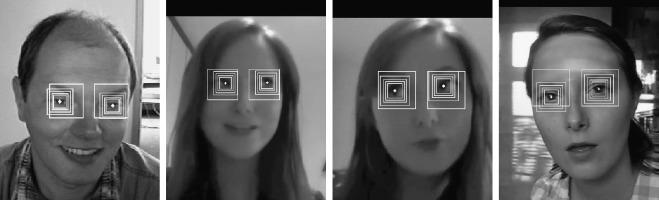 Pupil localization with perturbation